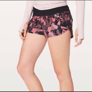 lululemon Speed Shorts Translucent Alpine: Size 6